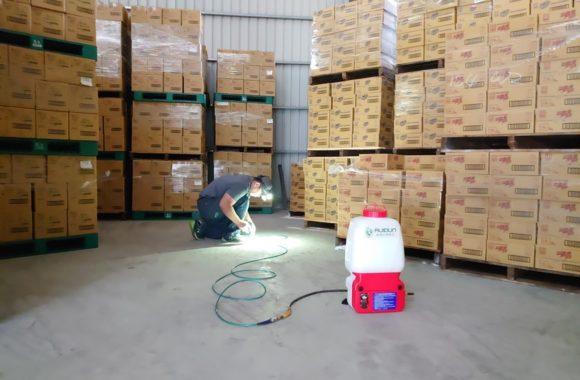 倉庫預防白蟻